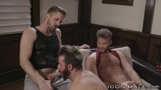 Threesome For The New Guy - IconMale