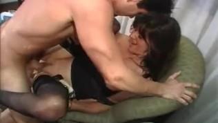 VHS порно с 1990-х годов с английским шлюха Хейли Russel