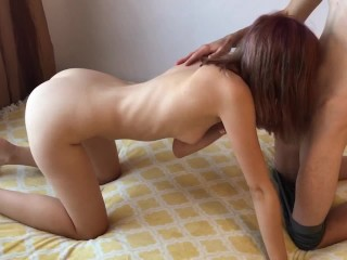 Wake Up Sex – Two Teens Having Sex in Bed