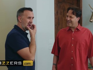 Brazzers - Fit small tit Janice Griffith cucks her husband with big dick