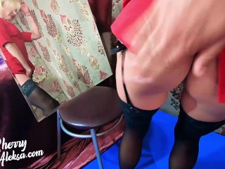 Hot MILF Sloppy Blowjob Dick Stranger and Hardcore Sex after Party