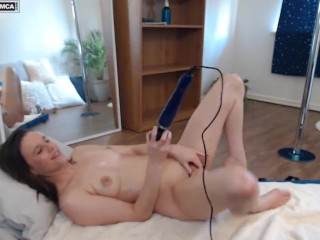 BlueXStacey Wand Orgasm Live Web Cam Broadcast from CB