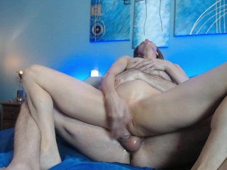 Peppermint and Dusty fucking squirting and cum swapping