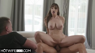 HotwifeXXX - Sexy Big Tit Lexi Luna Fits A Perfect Cock