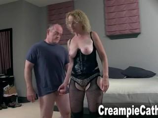 Mature Milf Begs For Creampies