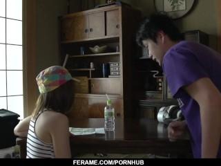 yuri hyuga sucks the big dick hard then swallows - more at slurpjp com