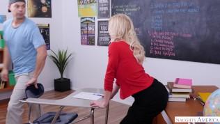 Naughty America - Dream comes true for college stud - starring Serene Siren