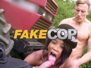 Fake Driving School Sexy horny minx Alexis Crystal desires drivers big cock
