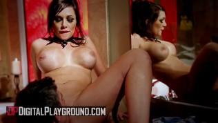 Digital Playground - Big tit vampire Destiny Dixon rides big dick in bathro