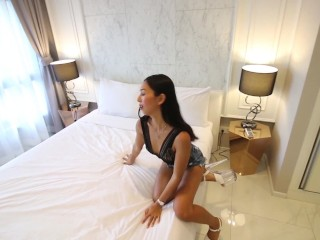 Skinny Asian Teen Multiple Orgasms and Intimate Sex