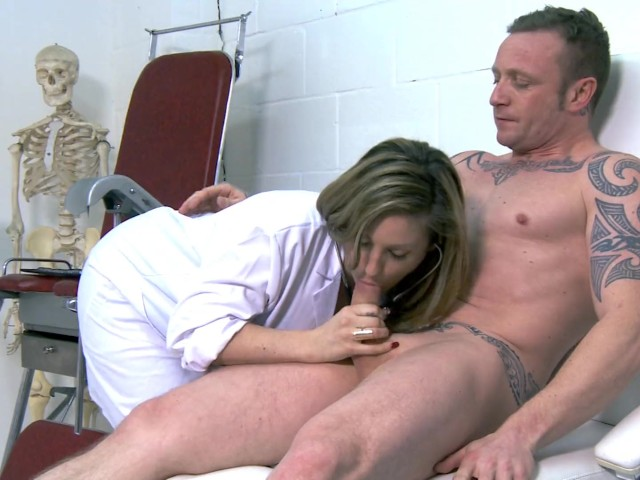 Nurse Ashley Downs Takes Good Care of Her Patient