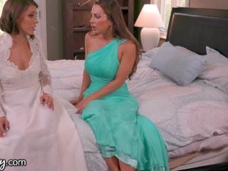 Adriana Chechik & Abigail Mac Pre Wedding Day Sex-GIRLSWAY