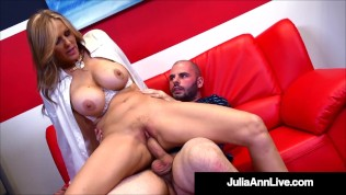 Hot Big Titty Instructor Julia Ann Gets Dicked By Her Horny Student!