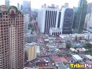 TRIKEPATROL Motorized Toys Make Asian MILF CUM Hard