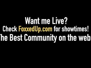 Young Black Beauty Jenna Foxx Face Fucks A Lucky Cock & Eats That Cum!