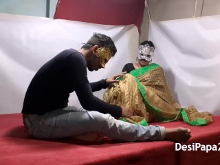 Desi Couple Rough Love Making With Sexy Wife Dominating Her Husband Cock