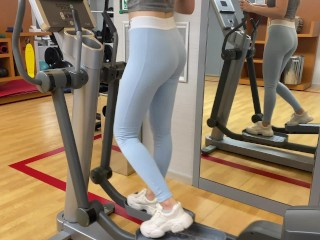 Step Sister Seduces Me After The Gym and Helps Me Cum Inside