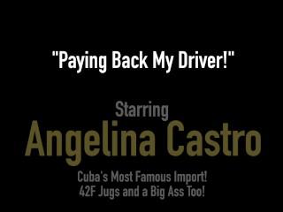 Hot Luscious Love Handles Angelina Castro Sucks Dick For A Wild Ride!
