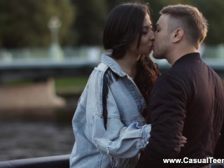casual teen sex - polina sweet - anal on a first tinder date