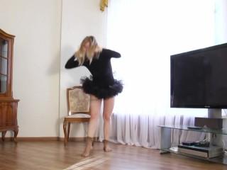 Hottest nude pussy stretching via spreads Sofya Belaya