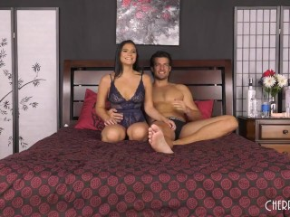 Latina Teen With Big Tits Gets Plowed in Live Sex Show