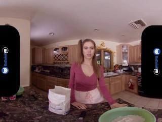 BaDoinkVR Thanksgiving Feasting On Stepsister Jill Kassidy's Cunt