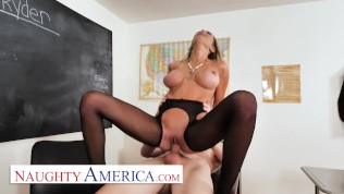 naughty america - linzee ryder has a crush on her sexy student