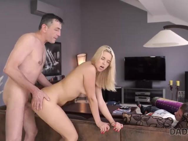 Muscle Daddy Fucks Girl