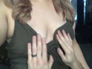 Please Daddy, Play With My Tits
