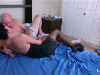 Slut Cheating Wife Getting Double Penetrated By Two Guys In First Milf Threesome