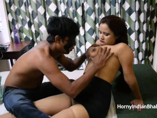 big boob indian aunty Simran getting sexually starved tight pussy stretched