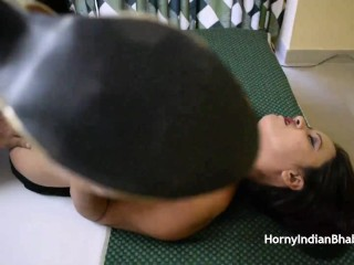enormous boob desi aunty Simran getting sexually starved solid hole stretched