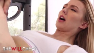 She Will Cheat – Cute blonde Alexa Grace fucks dilf while beta bf watches