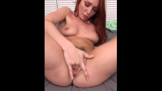 FULL SCENE Busty Redhead Teen Lacy Lennon Gets Ginger Pussy Fucked