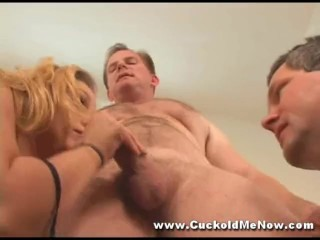 Interracial cuckold creampie eating hot wife sex chastity sissy big cock