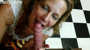 Young Friends Older Hot Milf Mom Swallows all of my Young Hard Cock!