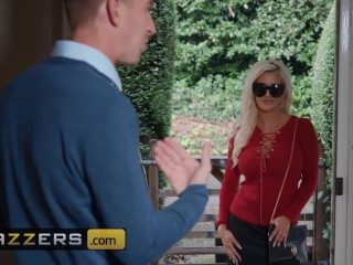 Brazzers - Busty milf to be Sienna Day takes two giant cock at once