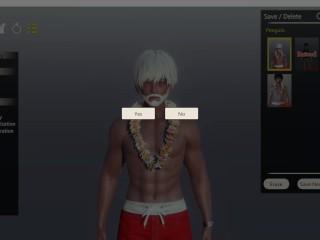 AI Syoujyo [Hentai game] Ep.2 Père noël baise sur une île déserte