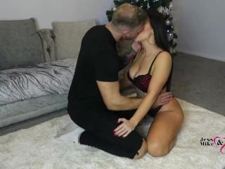 Hot Sexy British Amaeur Wife Gets Fucked Hard, Sucks Cock & Gets Facial! 4K