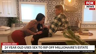 FCK News - Carolina Cortez Uses Sex To Rip Off Millionaire
