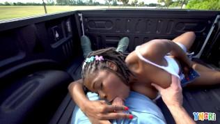YNGR – Black Amateur Teen Banged In Public