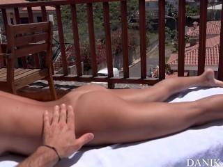 Danika Mori loves having sex in the sun with her boyfriend!Squirt & orgasms