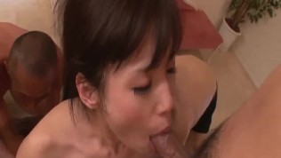 Japanese anal porn for shy brunette Tsukushi