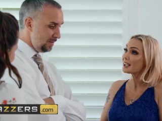 Brazzers - Busty inked Milf Devon takes big cock in her tight ass