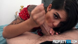 PropertySex Dude cheats on his GF with hot Latina roommate