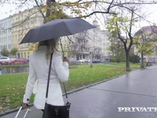 PRIVATE com - Beautiful Blonde Victoria Pure Does Dark Dick Anal Fuck!