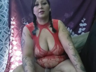 Christmas Suck and Fuck with Sexy Thick Latina