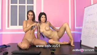 atlanta moreno & jess west babestation live porn show
