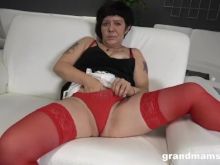 two brothers quick fuck a hot granny