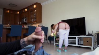 BANGBROS - Naughty Housekeeper With Nice Big Tits Providing Extra Services